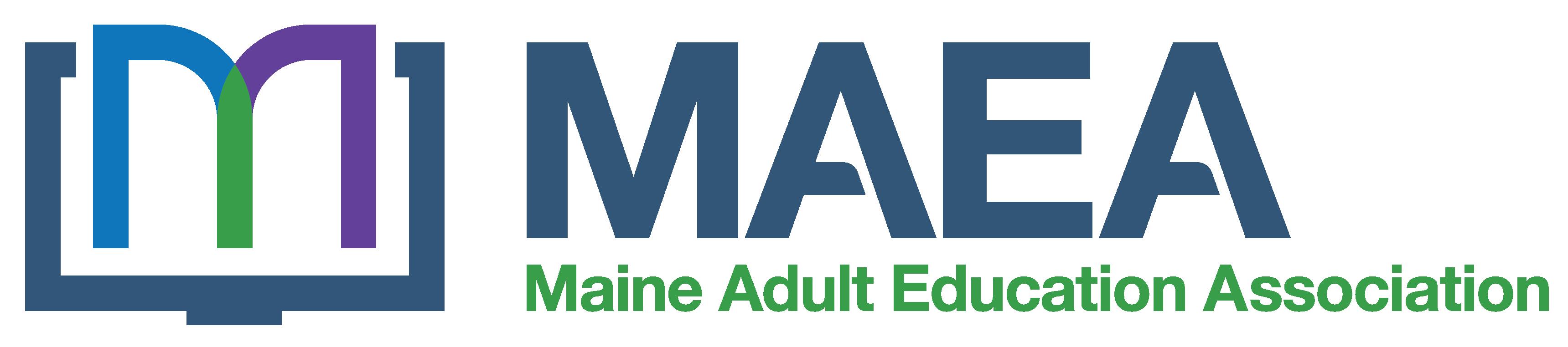 Maine Adult Education Association Logo